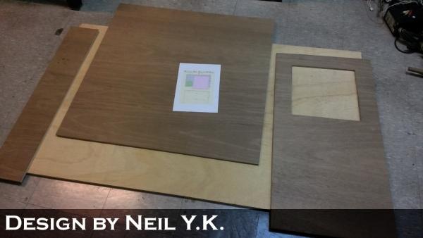 木工裁桌桌面